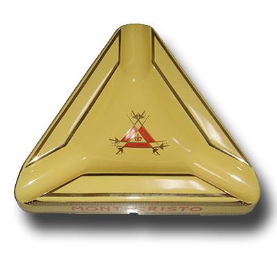 0041 Ceramic Ashtray with Montecristo logo