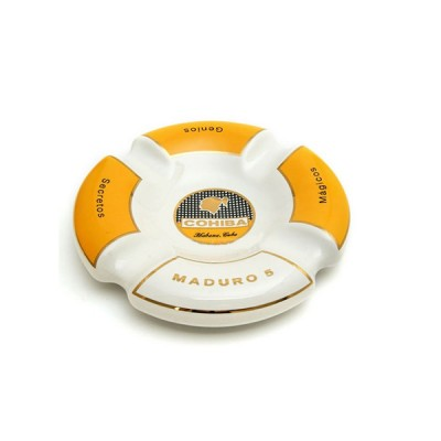 COHIBA MADURO Ashtray white