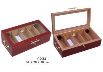 0234 Wooden cigar Humidor
