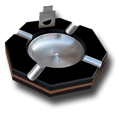 0568B Wooden cigar ashtray