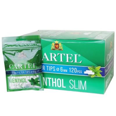 Cartel Menthol Filters 6mm