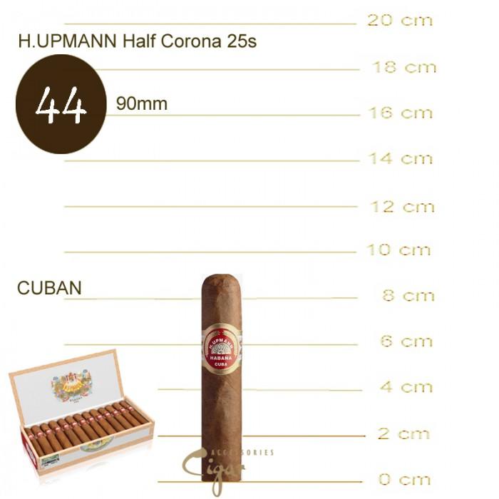 H.UPMANN HALF CORONA 25s