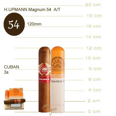 H.UPMANN MAGNUM 54 A/T 3s