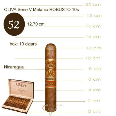 OLIVA Serie V Melanio ROBUSTO 10s
