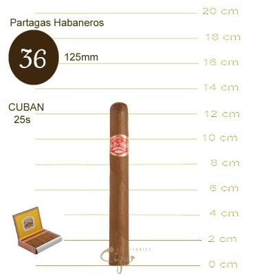 PARTAGAS HABANEROS