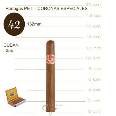 PARTAGAS PETIT CORONAS ESPECIALES