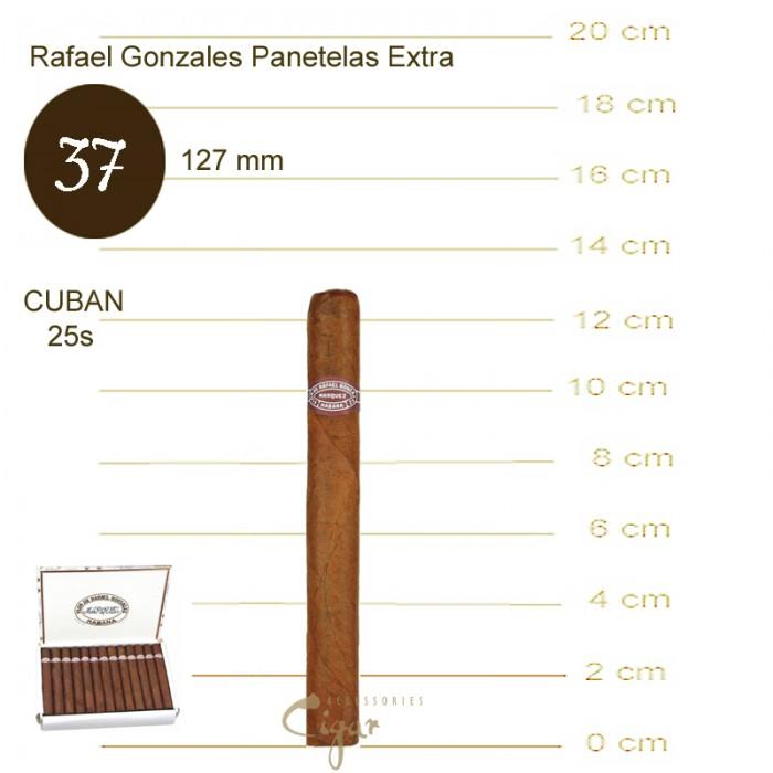 RAFAEL GONZALEZ PANATELAS EXTRA 25s