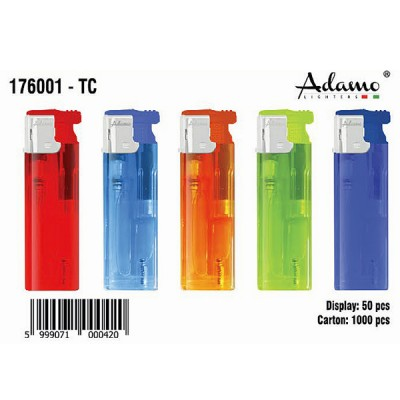 176001 LIGHTER turbo flame refillable dis:50
