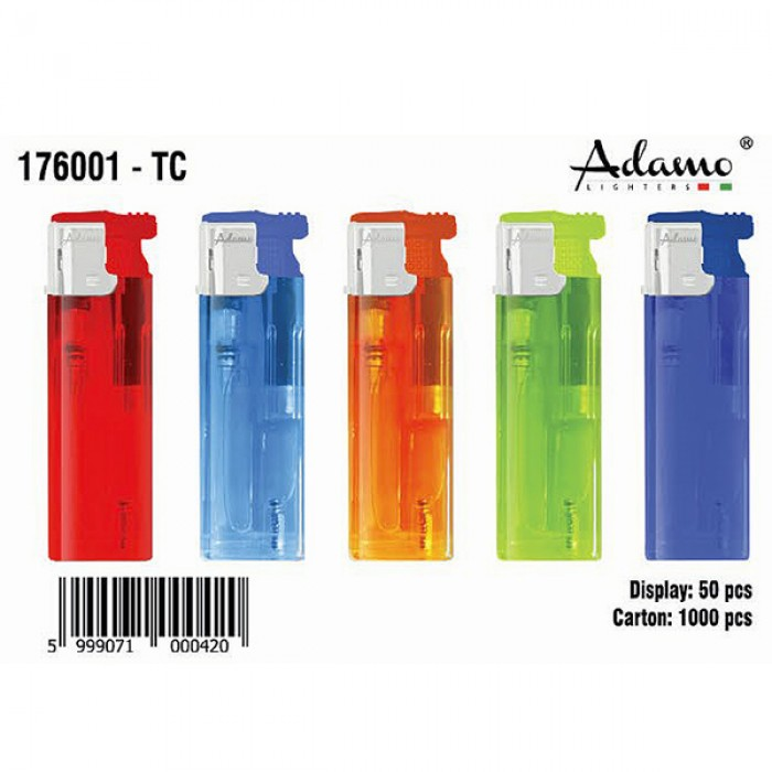 176001 LIGHTER turbo flame refillable dis:50