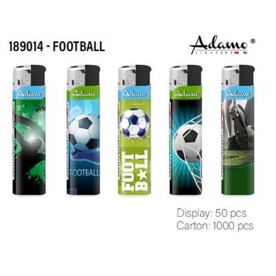 189014 ADAMO Electronic LIGHTER FOOTBALL
