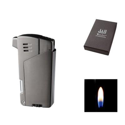222090 Winjet Lighter Pipe Black Nickel