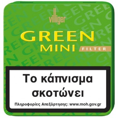 Villiger GREEN MINI FILTER tin 20s
