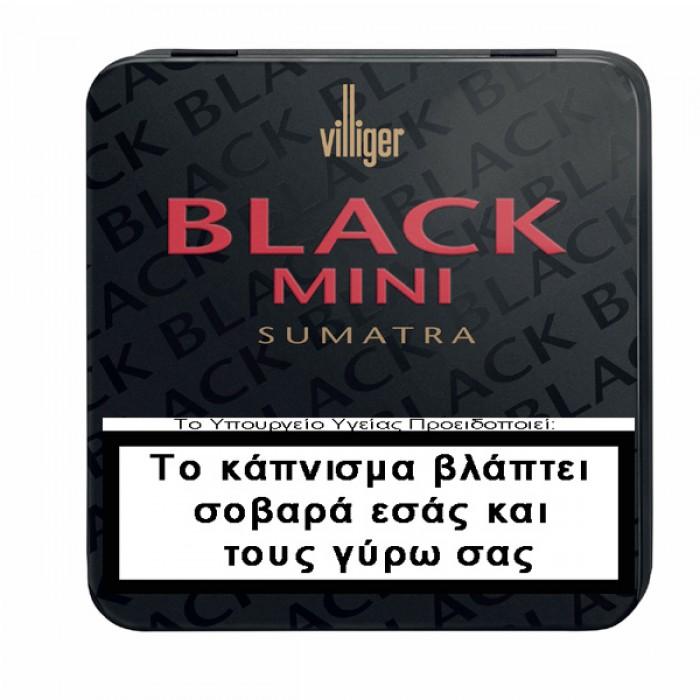 Villiger BLACK Sumatra tin 20s