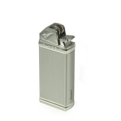 257010 Eurojet Lighter Classic Flint/Pipe/Chrome