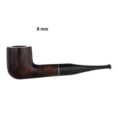 309991 Pipe, straight, ring, London, medium brown