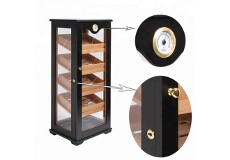 Humidor cigars display black