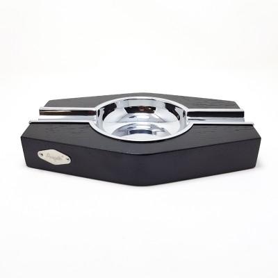 422310 Angelo Zigarrenascher 2er Holz-Metall , schwarz, 20x13x3