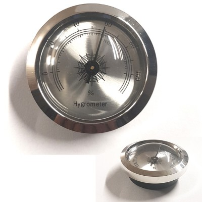 Small Analog Hydrometer Silver