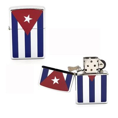5021 lighter type Zippo Cuban Flag