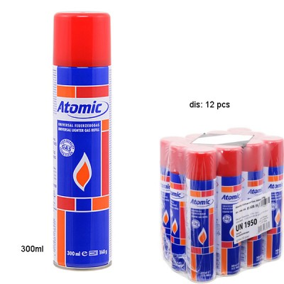 Atomic 300ml Butane Gas