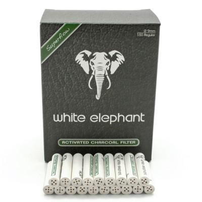 Elephant Active Charcoal Filter 9mm 150pcs