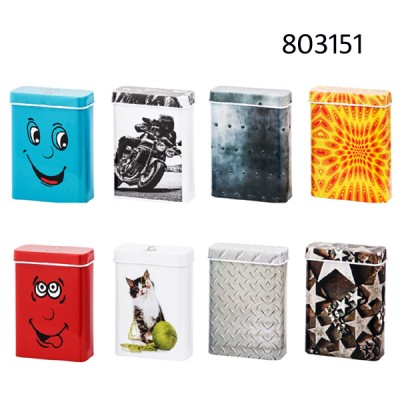 Cigarette tin box