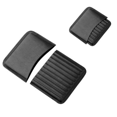 819000 Angelo cigarillo case 10pcs Leather, black