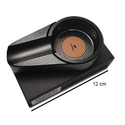 ASH-47 ashtray black aluminum