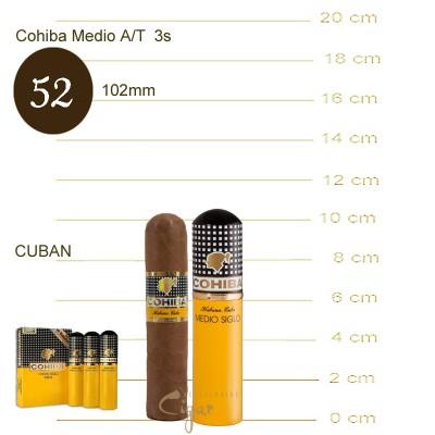 COHIBA MEDIO SIGLO A/T 3s