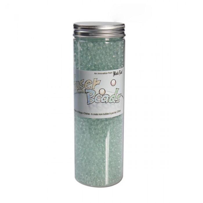 'Black Leaf' Glass Pearls - Diffusor Beads