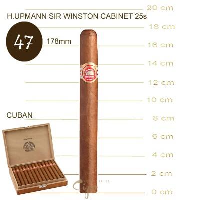 H.UPMANN SIR WINSTON CABINET 25 Cigars
