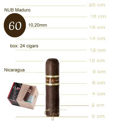 NUB Maduro 4x60  24s