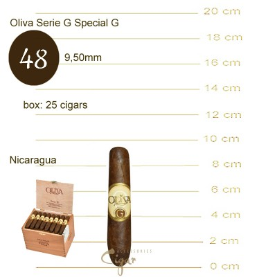 OLIVA Serie G SPECIAL G 3.75 X 48   25s
