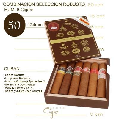 COMBINACION SELECCION ROBUSTOS HUM. 6 Cigars