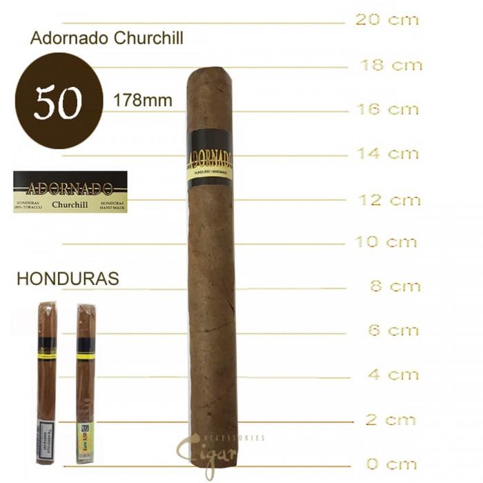ADORNADO CHURCHILL CIGARS