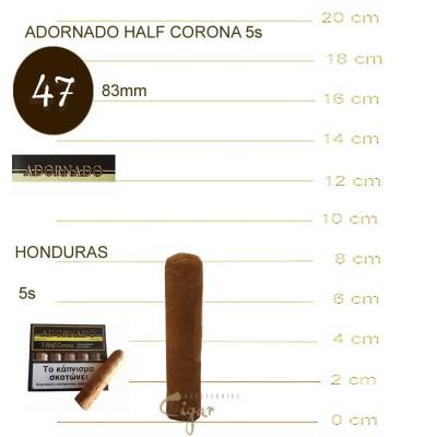 ADORNADO HALF CORONA CIGARS 5s