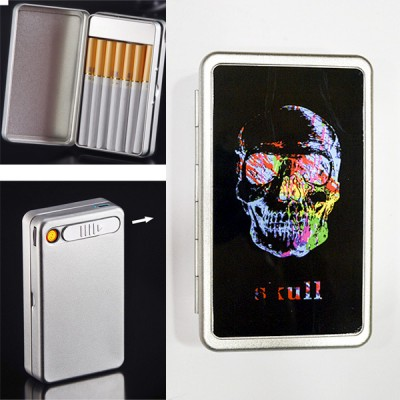 ARC-B10-1 cigarette case+ lighter