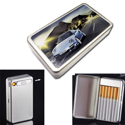 ARC-B10-2 cigarette case+ lighter