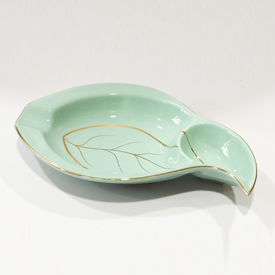 ASH-350-2 ceramic ashtray Green