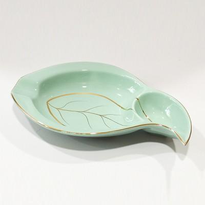 ASH-350-2 ceramic ashtray Green