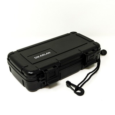 CB-209 TRAVEL HUMIDOR 5cigar BLACK