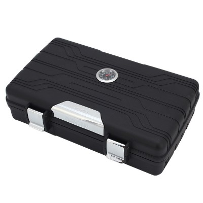 TRAVEL CASE BLACK HUMIDOR JIFENG 10 cigar