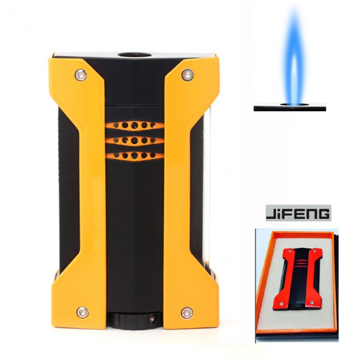 JF-091Y JIFENG lighter YELLOW 1 flame