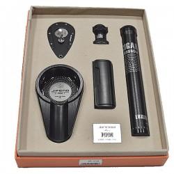 JF-114 SET JIFENG lighter+cutter+ashtray+holder