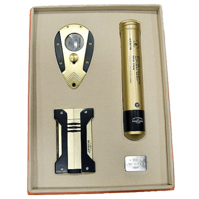 JF-T-202 SET JIFENG lighter+cutter+man perfum