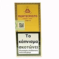 MONTECRISTO CLUB 10s