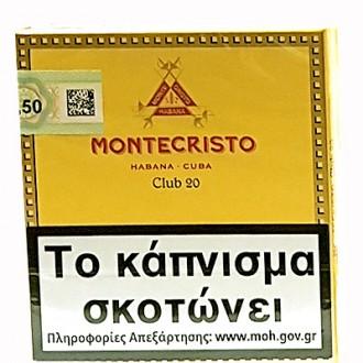 MONTECRISTO CLUB 20s