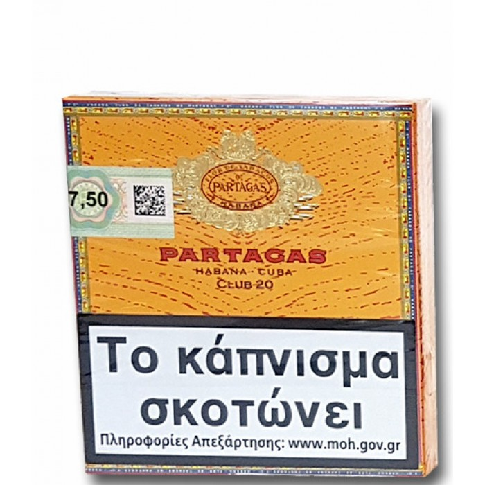 PARTAGAS CLUB 20s