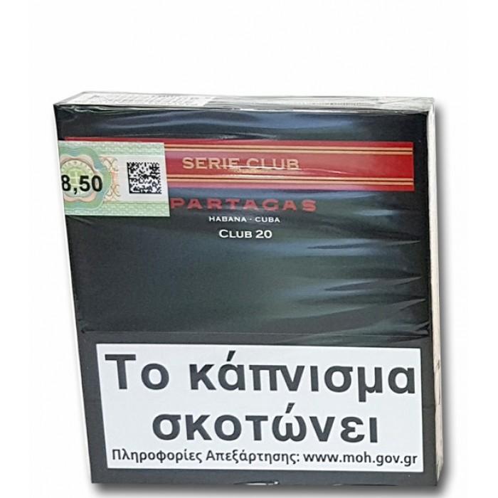 PARTAGAS SERIE CLUB 20s