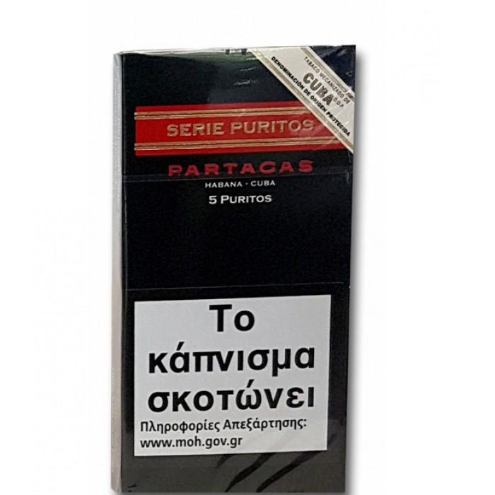PARTAGAS SERIE Puritos  5s